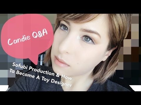 Candie Q&A Sofubi and the designer vinyl toy industry