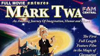The Adventures Of Mark Twain (1985)   Full Claymation Adventure Movie