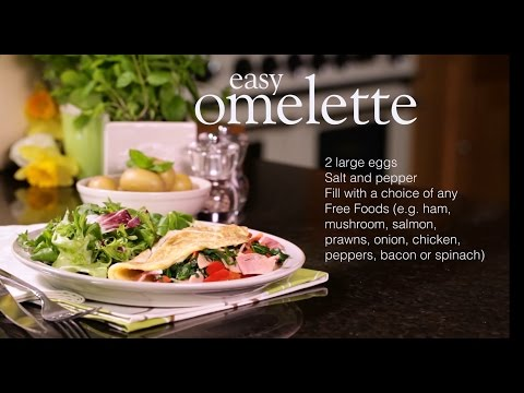 Slimming World easy omelette recipe