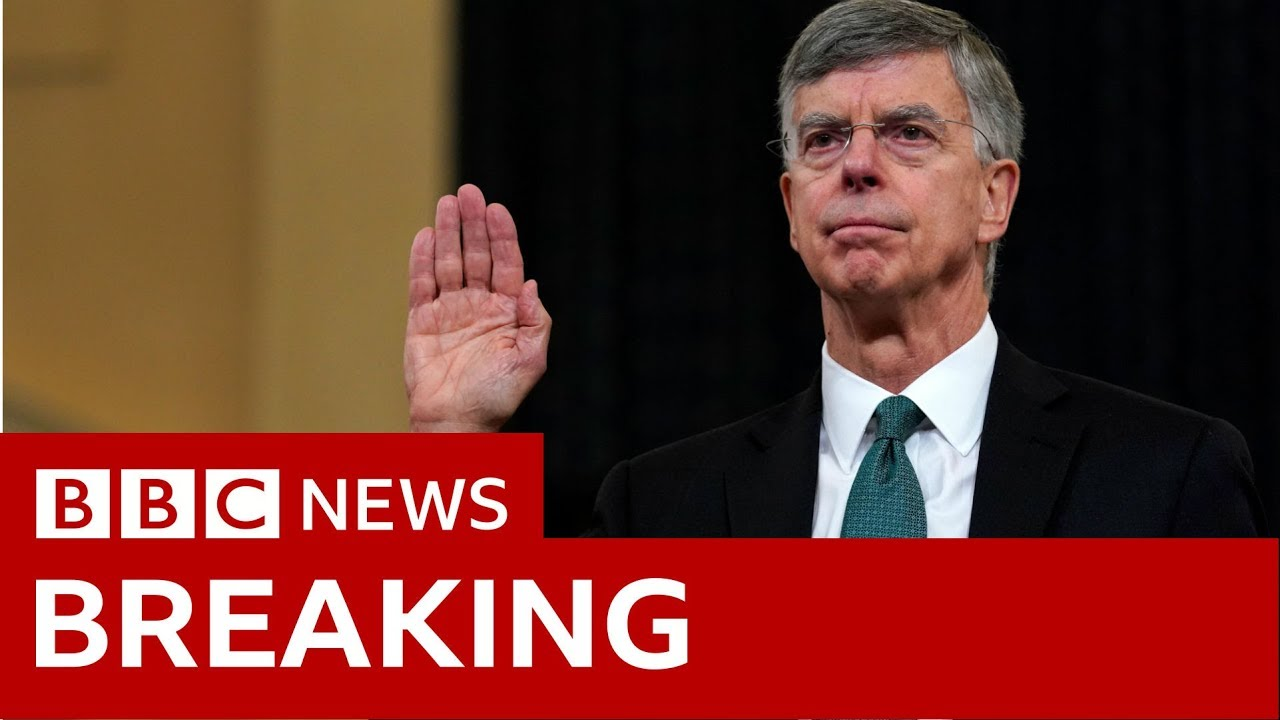 Trump impeachment: Bill Taylor opening statement in Full - BBC News