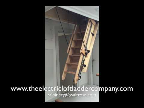 Chilgrove/Eartham Custom Build Electric Loft Ladder