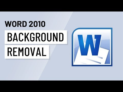 Word 2010: Background Removal