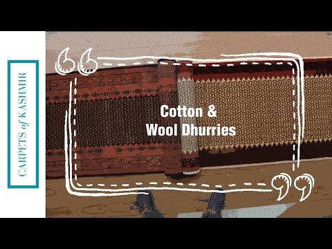 Cotton & Wool Dhurries