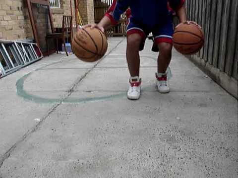 Basketball Handling Drills::Improve Handles::Better Ball Handles::Part 1