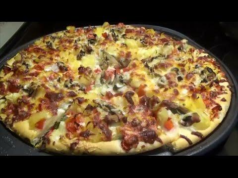 Best Homemade Pizza | white version | - Episode 208