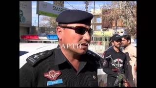 Traffic Police in action in Quetta