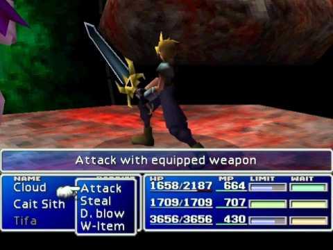 Final Fantasy VII - Final Boss fights