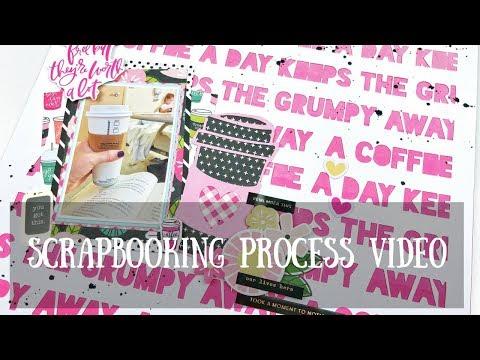 Scrapbook Process Video- Make Paper Art Cut file