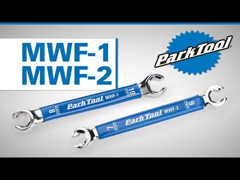 MWF-1 & MWF-2 Metric Flare Wrenches