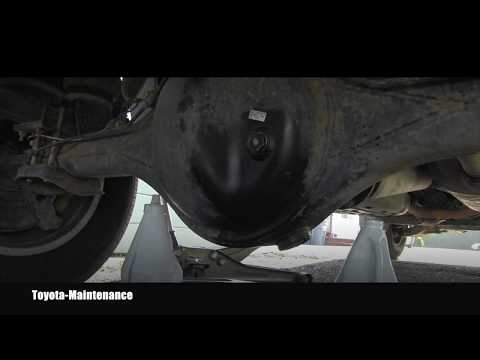 Toyota Tundra Rear Differential Oil Change