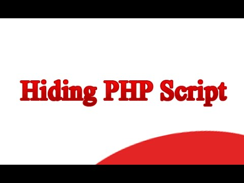 Hide php
