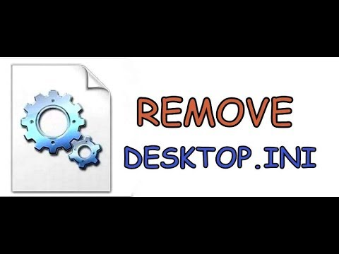 Remove Desktop.ini File Permanently Window 8 & 10