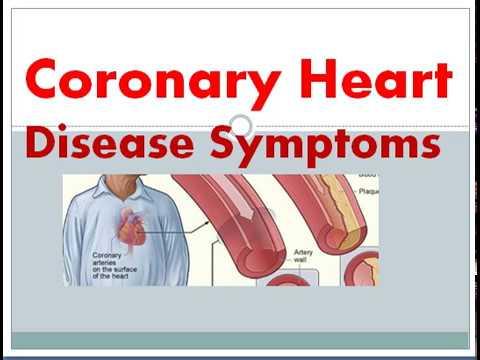 Coronary Heart Disease Sign and Symptoms