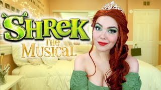 Princess Fiona Makeup Tutorial | SHREK THE MUSICAL Chit-Chat