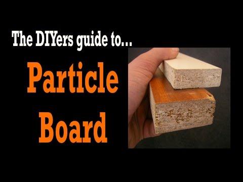PARTICLE BOARD! MDF vs. Particle Board? Is Particle Board Toxic?- DIY TOOLS #4