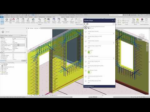 Dynamo for Automated Reinforcement Detailing