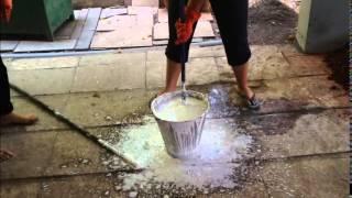 Lime: Wet slaking process