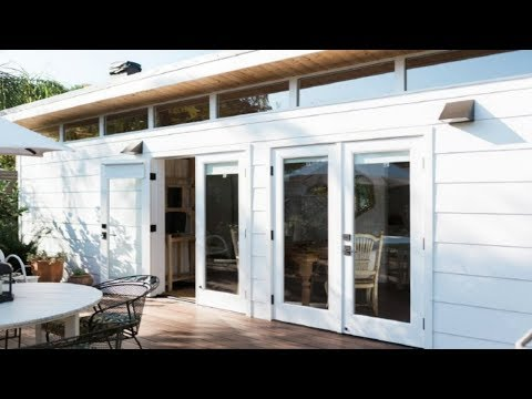 Beautiful and Minimalistic 364 Square Feet Tiny House in California Built for Dreamy Guest House  Ma