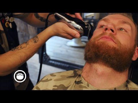 Short Beard Barbershop Maintenance Trim | Cut & Grind