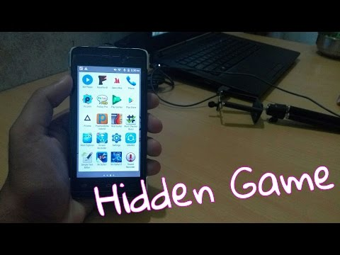 Secret hidden Game on ANDROID device