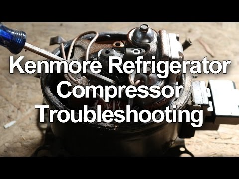 Kenmore Refrigerator Not Cooling - Compressor Troubleshooting and Testing