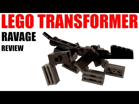 Lego Transformers - Ravage - Review