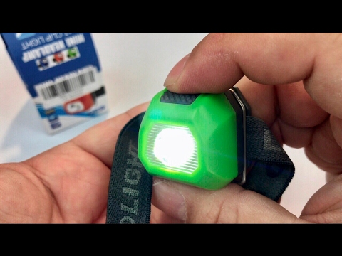 CrazyFire Waterproof Mini 60lm Cree LED Headlamp Waterproof review and giveaway