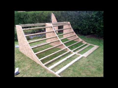 How to build a quarter pipe (Easy and simple)