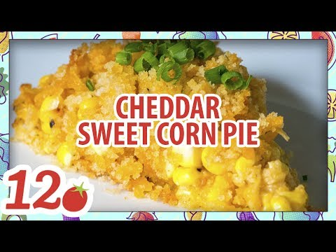 How to make: Cheddar Sweet Corn Pie Recipe