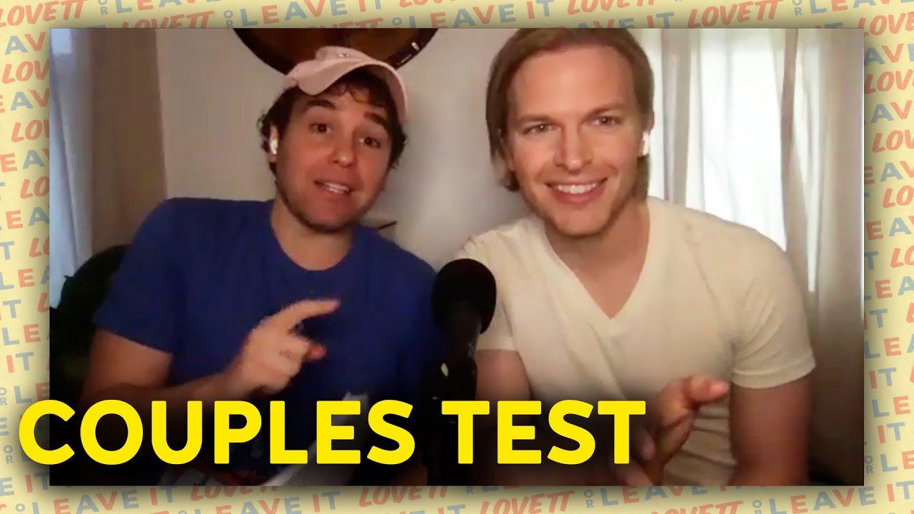 Jon Lovett and Ronan Farrow Take a Couples Test | Lovett or Leave It