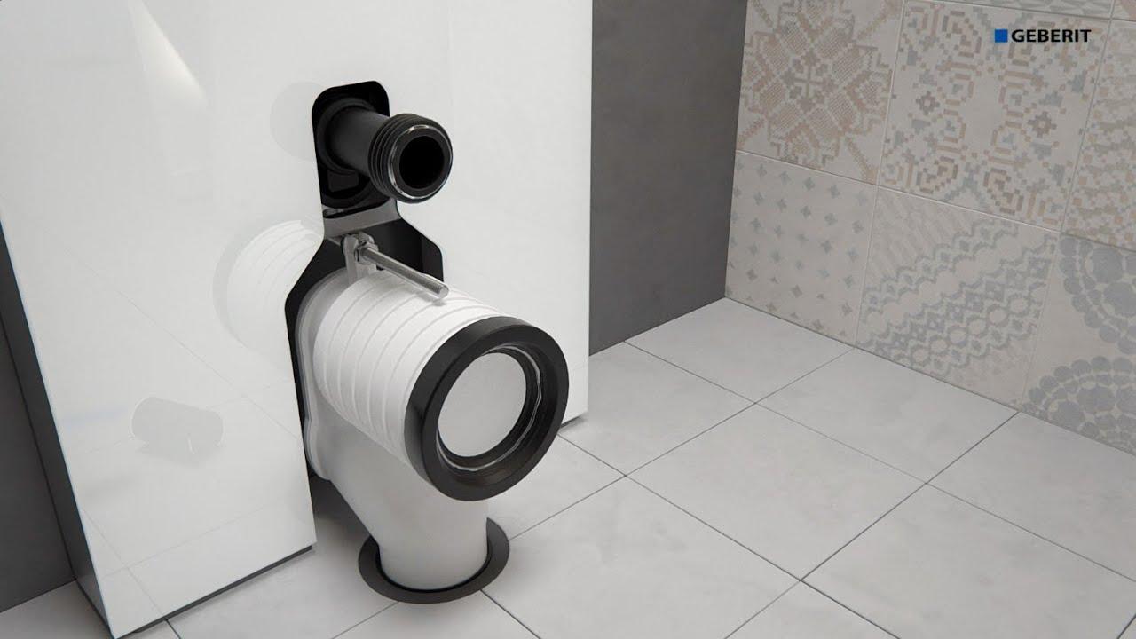 Geberit Monolith 2016 WC Floor drain - Installation