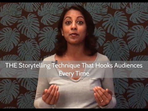 THE Storytelling Technique That Hooks Audiences Every Time | Poornima Vijayashanker