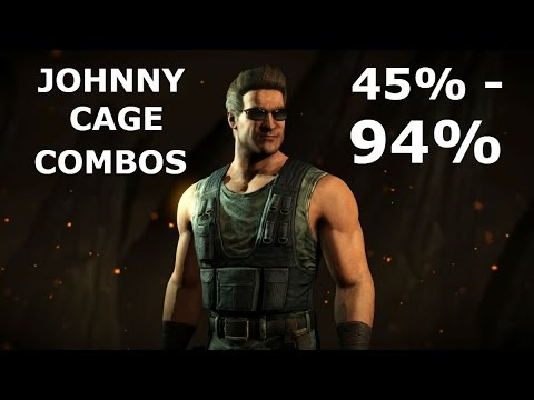 MKXL: Johnny Cage New Highest Combos 94%