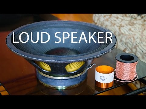 How to make a Speaker at Home - Very Easy!