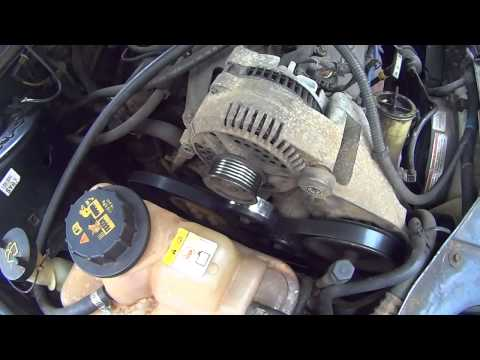 How to replace an Alternator on a Ford Taurus  Automobile