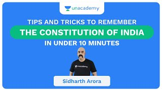 Tips and Tricks to Remember the Constitution of India in under 10 minutes - UPSC CSE/IAS Aspirants