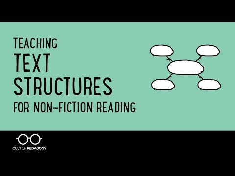 Teaching Text Structures for Non-Fiction Reading