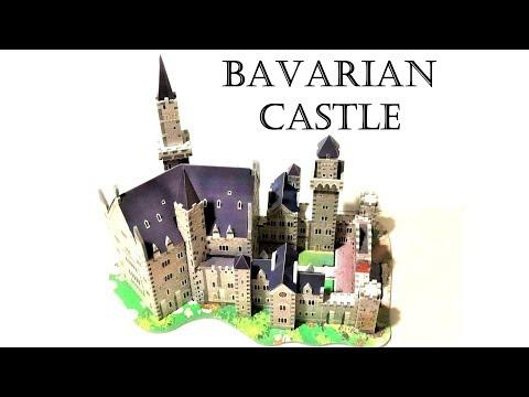 Bavarian Castle Puzzle Time Lapse