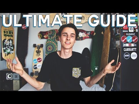 ULTIMATE GUIDE FOR BUYING A LONGBOARD