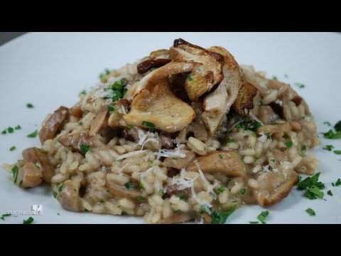 Risotto with Porcini Mushrooms - italian recipe
