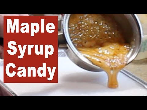 HOMEMADE CANDY:  Maple Syrup & Snow - A Delightful treat from nature