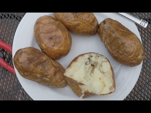 How To Make a Baked Potato on a Grill