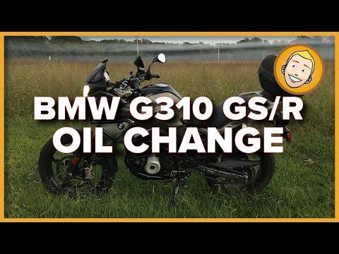2018 BMW G310 GS Oil Change
