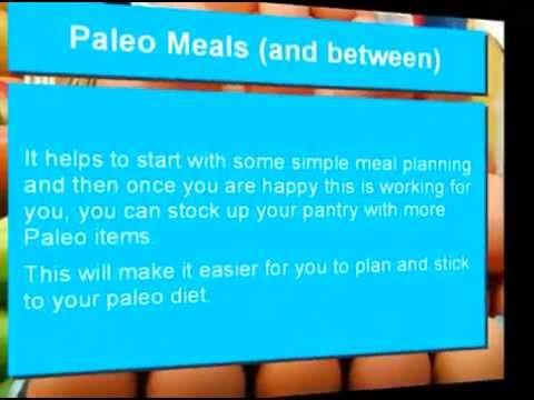Paleo Meals and In Between