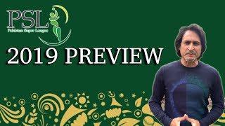 #PSL 2019 Preview | Teams Squad Review | Ramiz Speaks