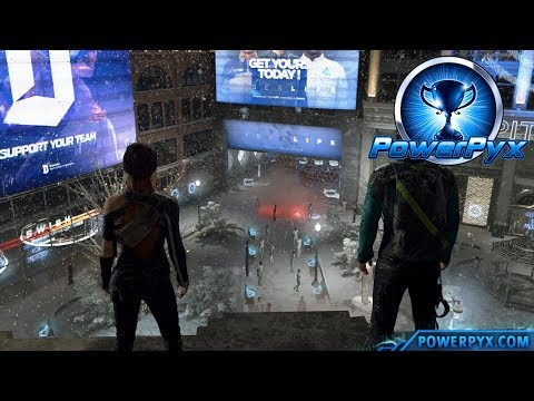 Detroit Become Human - SEND A MESSAGE Trophy Guide (Markus Peacful Riot)