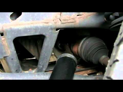 Chevy Trailblazer - checking/changing front differential fluid