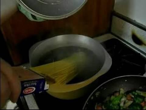 Shrimp Pasta Primavera Recipe : Cooking Pasta for Pasta Primavera Recipe