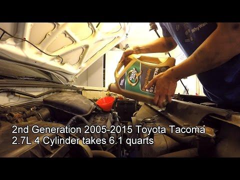 2005-2015 Toyota Tacoma 2.7L Oil Change