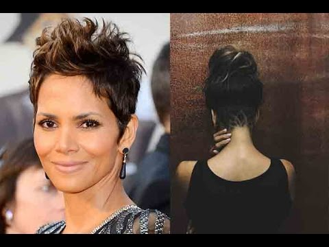 Halle Berry shares photo of her edgy new haircut